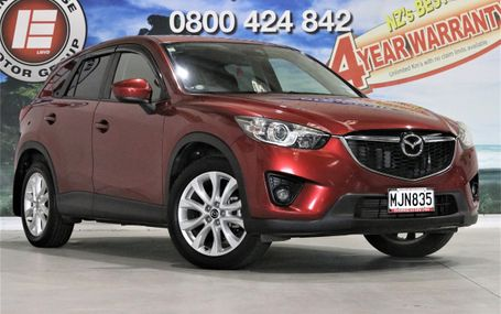 2012 Mazda CX-5 XD L PACK FULL LEATHER Test Drive Form