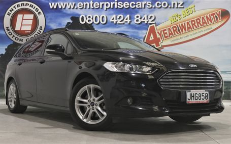 2015 Ford Mondeo WAGON AMBIENTE Test Drive Form