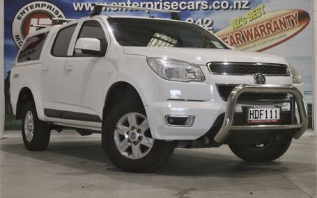 2013 Holden Colorado