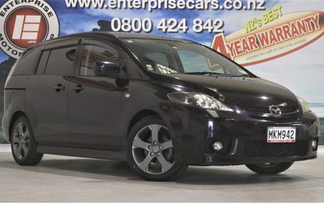 2007 Mazda Premacy 20Z NO DEPOSIT TERMS Test Drive Form