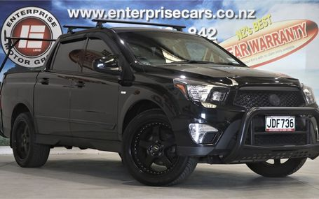 2015 SsangYong Actyon Sports D/CAB DIESEL UTE Test Drive Form