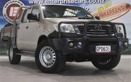 2012 Toyota Hilux 4X4 DIESEL D/CAB UTE Test Drive Form