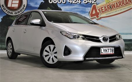 2013 Toyota Auris (COROLLA) 16,000 KMS Test Drive Form