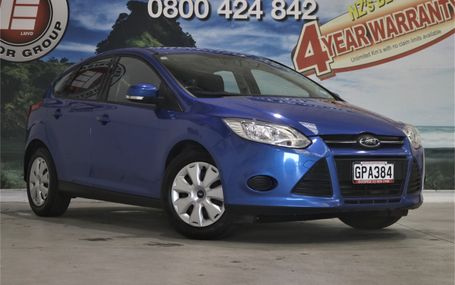 2012 Ford Focus AMBIENTE STUNNING COLOUR Test Drive Form