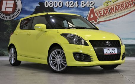 2012 Suzuki Swift SPORT 1.6 6 SPEED MANUAL Test Drive Form