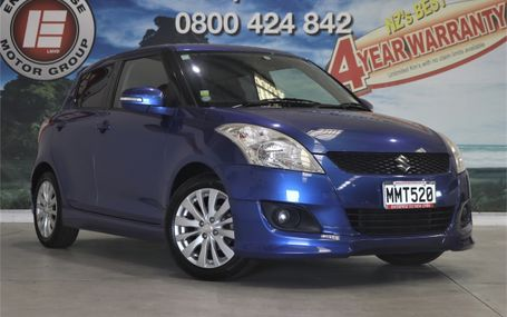 2011 Suzuki Swift RS STUNNING COLOUR Test Drive Form