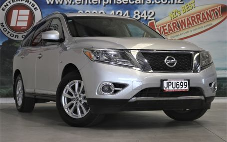 2016 Nissan Pathfinder TI 7 SEATER 4WD Test Drive Form