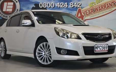 2010 Subaru Legacy 2.5 GT S PACKAGE Test Drive Form