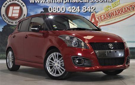 2012 Suzuki Swift SPORTS RACY RED Test Drive Form