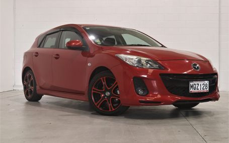 2012 Mazda Axela SPORT 15S HOT HATCH Test Drive Form
