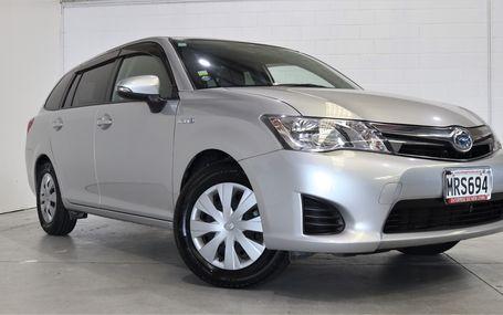 2014 Toyota Corolla HYBRID FIELDER Test Drive Form