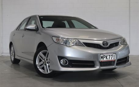 2013 Toyota Camry ATARA S NZ NEW SEDAN Test Drive Form