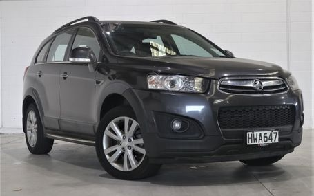 2014 Holden Captiva 7 LT 4WD DIESEL Test Drive Form