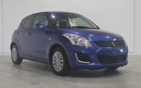 2015 Suzuki Swift XG 67,000 KMS Test Drive Form