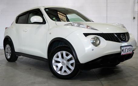 2011 Nissan Juke TYPE V Test Drive Form