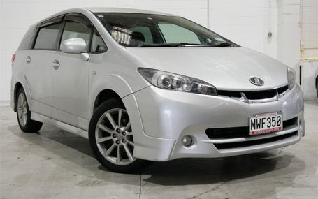 2009 Toyota Wish WIDEBODY Z Test Drive Form