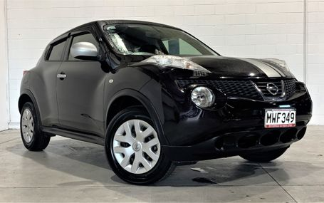 2014 Nissan Juke POPULAR Test Drive Form
