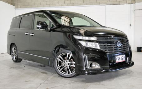 2012 Nissan Elgrand HIGHWAY STAR Test Drive Form