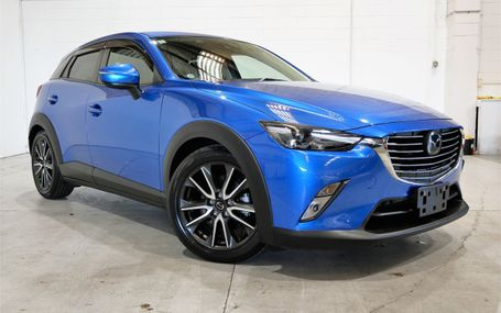 2015 Mazda CX-3 SAFETY PACKAGE Test Drive Form