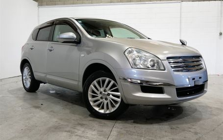 2009 Nissan Dualis CROSS RIDER Test Drive Form