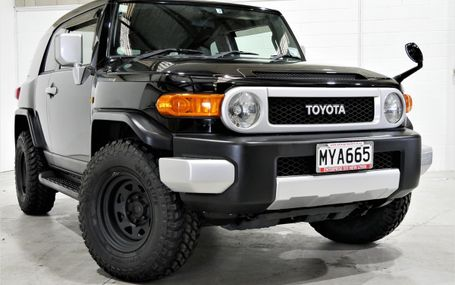 2011 Toyota FJ Cruiser 4WD AWESOME IN BLACK Test Drive Form