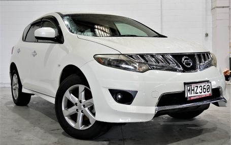 2009 Nissan Murano 6 AIRBAGS Test Drive Form