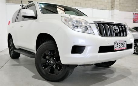 2011 Toyota Land Cruiser Prado GX LTD 3.0TD 5A Test Drive Form