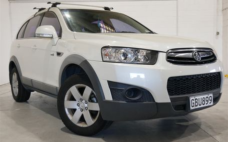 2011 Holden Captiva