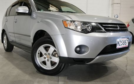 2009 Mitsubishi Outlander 24MS 7 SEATER Test Drive Form