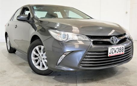 2016 Toyota Camry GL 2.5 SO RELIABLE Test Drive Form