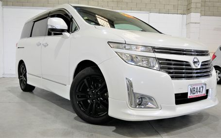 2011 Nissan Elgrand HIGHWAY STAR Test Drive Form