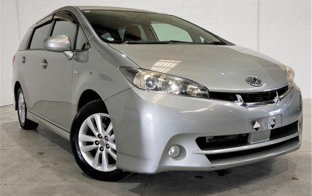 2010 Toyota Wish PUSH START BUTTON Test Drive Form