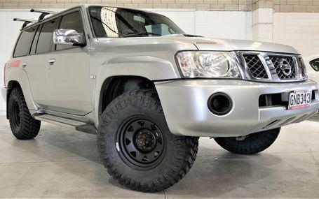 2012 Nissan Patrol ST 7 STR 3.0 DIESEL Test Drive Form