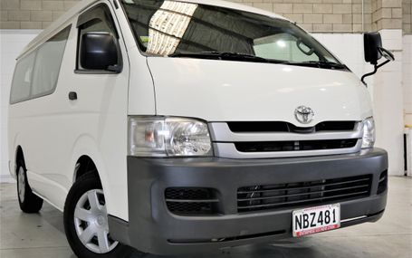 2009 Toyota Hiace DX 10 SEATER Test Drive Form
