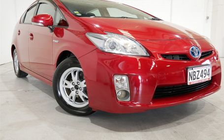 2011 Toyota Prius S 72,000 KMS Test Drive Form