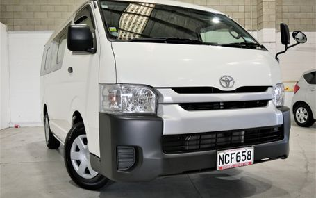 2015 Toyota Hiace 10 SEATER 56,000 KMS Test Drive Form