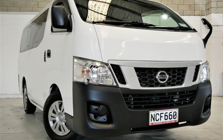 2015 NISSAN Caravan NV350 10 SEATER Test Drive Form