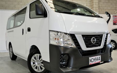 2018 Nissan NV350 EMERGENCY BRAKE PACK Test Drive Form