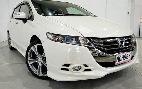 2012 Honda Odyssey 7 STR ABSOLUTE Test Drive Form