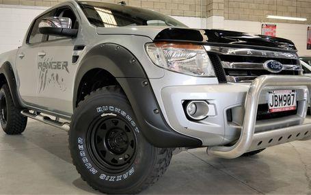 2015 Ford Ranger XLT 4WD DIESEL D/CAB Test Drive Form