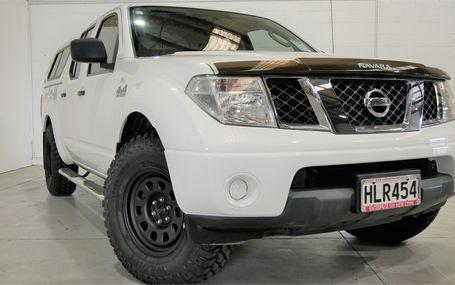 2014 Nissan Navara RX 4WD DIESEL D/CAB Test Drive Form