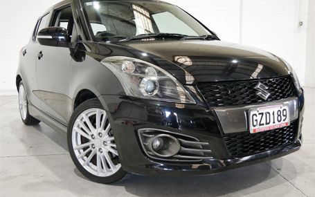 2013 Suzuki Swift SPORT 1.6 NZ NEW Test Drive Form