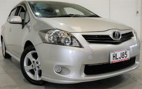 2009 Toyota Auris HATCH 85,000 KMS Test Drive Form