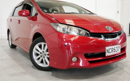 2009 Toyota Wish 74,000 KM'S Test Drive Form