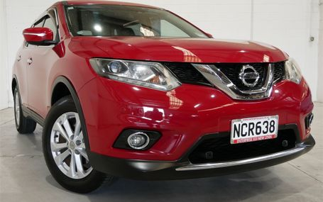 2014 Nissan X-Trail LOOKING SHARP IN RED Test Drive Form