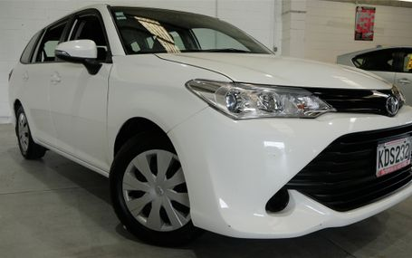 2016 Toyota Corolla GX WAGON Test Drive Form