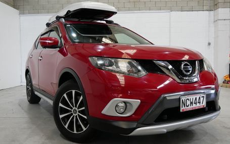 2014 Nissan X-Trail SPORTY IN RED Test Drive Form