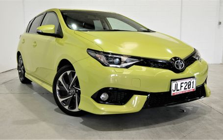 2015 Toyota Corolla ZR 1.8 49,000 KMS Test Drive Form