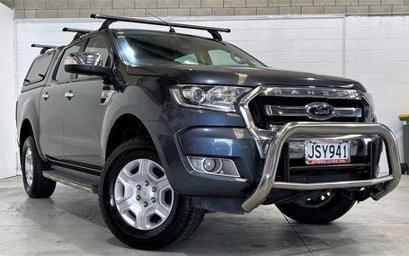 2016 Ford Ranger XLT DIESEL D/CAB Test Drive Form