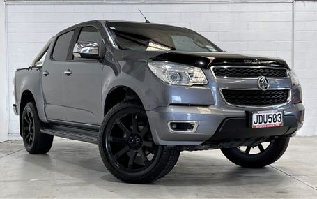 2015 Holden Colorado LTZ 20`` ALLOYS - SPORTSBAR Test Drive Form